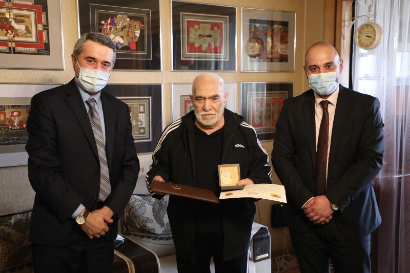 Photo of Արժևորելով Ժողովրդական նկարչի վաստակը. Ֆերդինանդ Մանուկյանը դարձավ 80 տարեկան