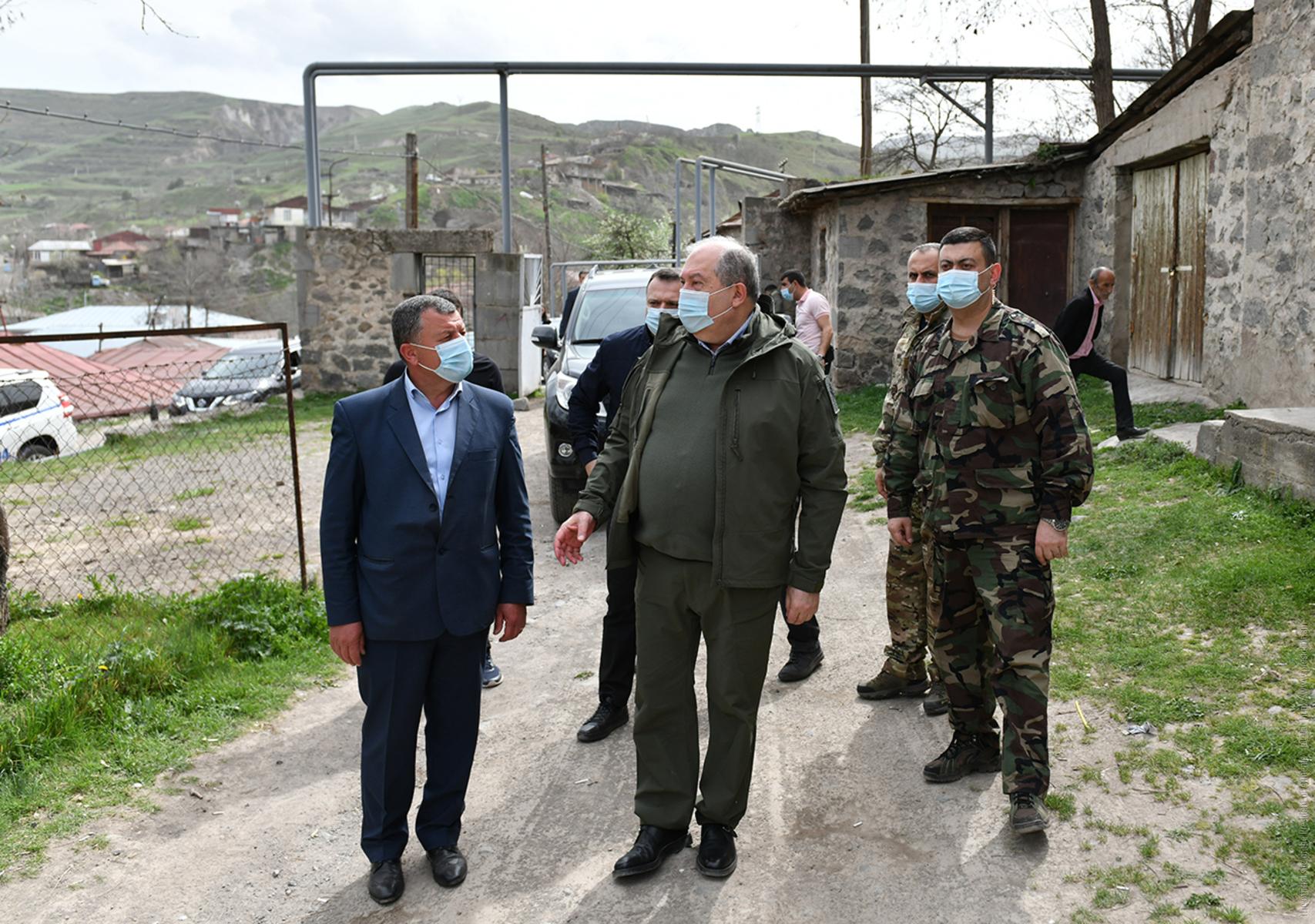 Photo of Жители сел Сюникской области президенту: Мы живем в неопределенной ситуации