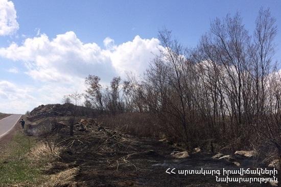 Photo of Հրշեջ-փրկարարները մարել են ընդհանուր 8 հա տարածքում բռնկված հրդեհները