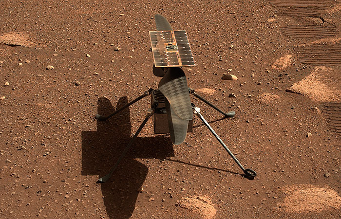 Photo of Первый полет вертолета НАСА на Марсе запланирован на 19 апреля