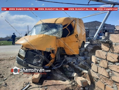 Photo of Ողբերգական ավտովթար Արարատի մարզում. 22-ամյա վարորդը Ford Transit-ով բախվել է պատին. վարորդը հիվանդանոցի ճանապարհին մահացել է