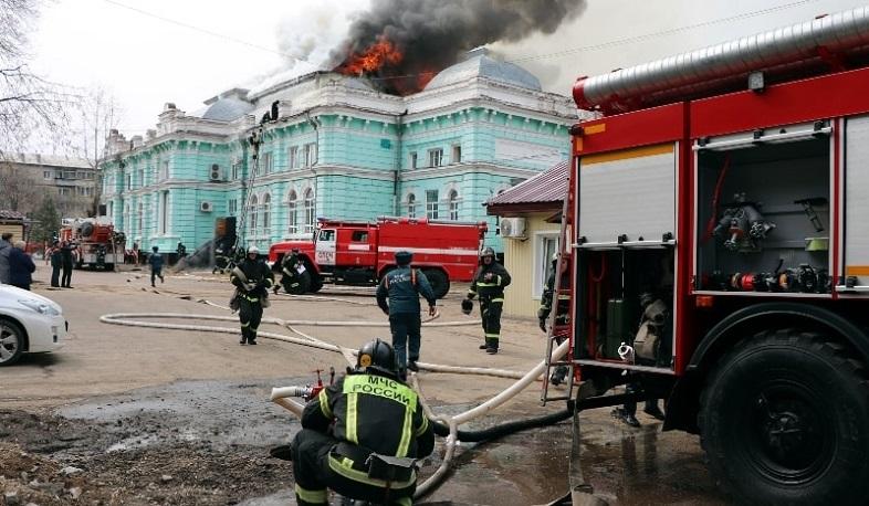 Photo of Ռուս բժիշկներն ավարտել են սրտի վիրահատությունը հիվանդանոցում բռնկված հրդեհի պայմաններում