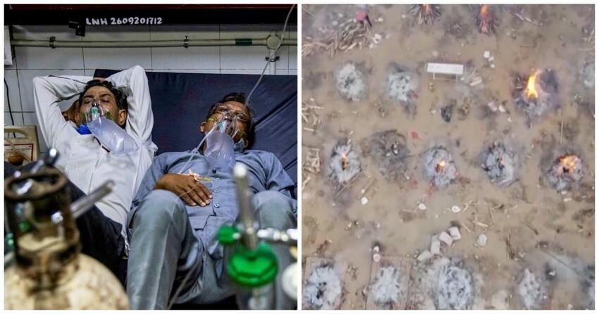 Photo of Մեկ մահճակալի վրա տեղավորում են 2-3 հիվանդի, իսկ դիակներն այրում փողոցներում. Հնդկաստանում աղետալի վիճակ է
