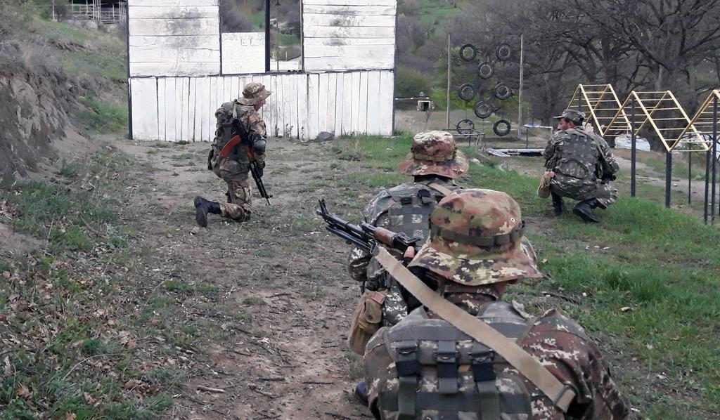 Photo of Հատուկ նշանակության ստորաբաժանումների զինծառայողներն անցկացրել են վարժանքներ