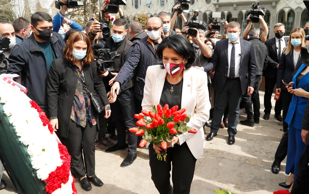Photo of Վրաստանի նախագահը հնարավոր է տուգանվի