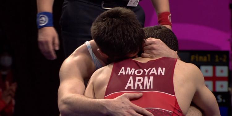 Photo of Մալխաս Ամոյանը՝ ըմբշամարտի Եվրոպայի առաջնության արծաթե մեդալակիր