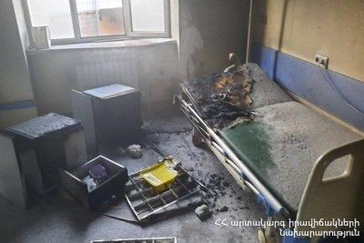 Photo of Խոշոր հրդեհ՝ «Հերացի» թիվ 1 հիվանդանոցում․ դեպքի վայր է մեկնել 6 մարտական հաշվարկ, տարհանվել է 11 հիվանդ․ կան տուժածներ
