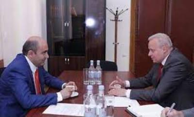 Photo of Էդմոն Մարուքյանը և Սերգեյ Կոպիրկինը քննարկել են ռազմագերիների վերադարձի հարցը