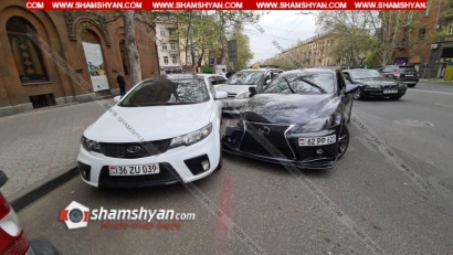 Photo of Երևանում շղթայական ավտովթար է տեղի ունեցել