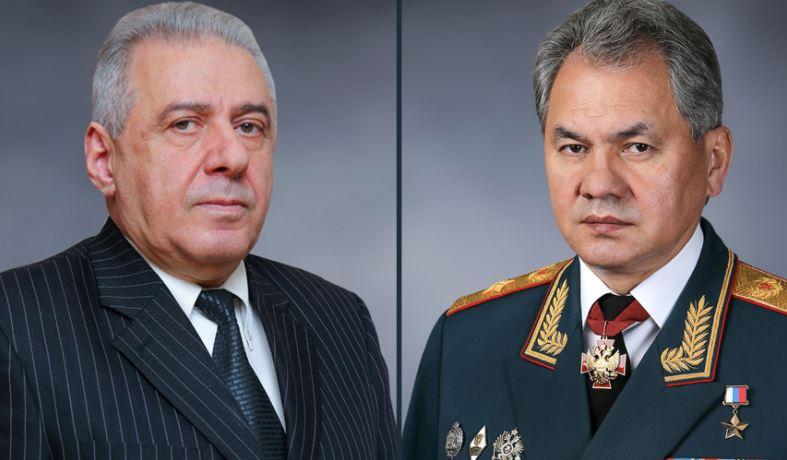 Photo of Հարությունյանն ու Շոյգուն քննարկել են հայ-ռուսական ռազմական համագործակցությանն առնչվող հարցեր