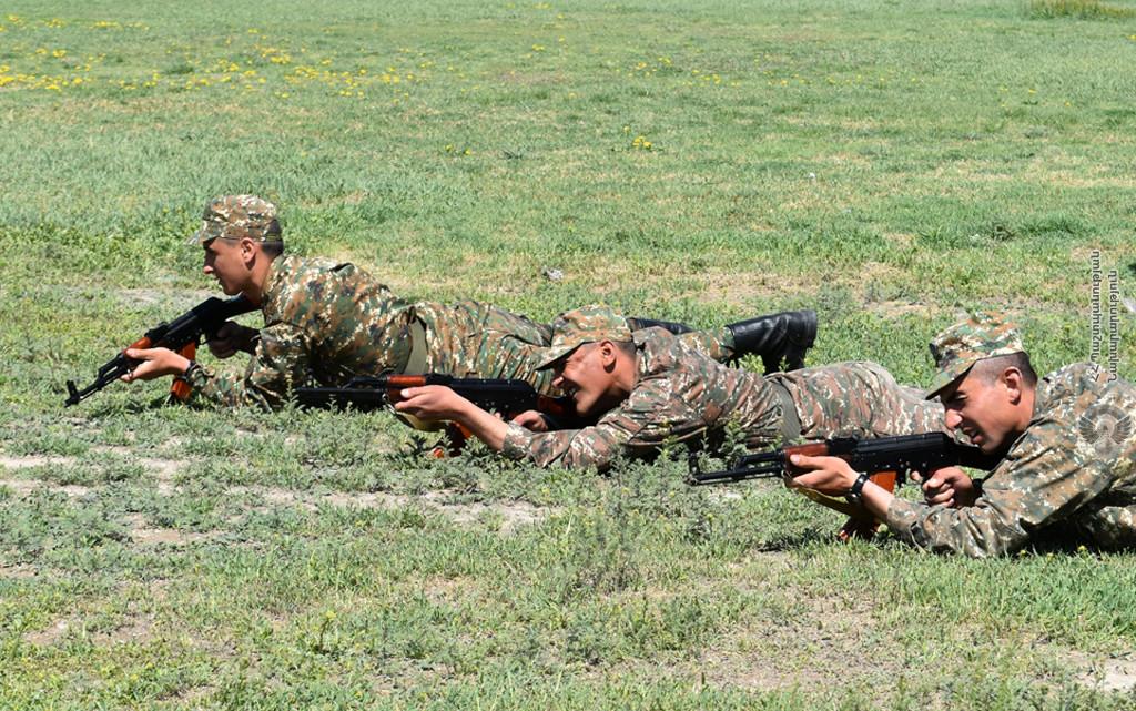 Photo of Նորակոչիկների հետ անցկացվել են գործնական պարապմունքներ