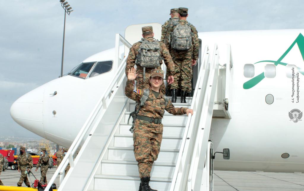 Photo of Армянские миротворцы отправились в Ливан