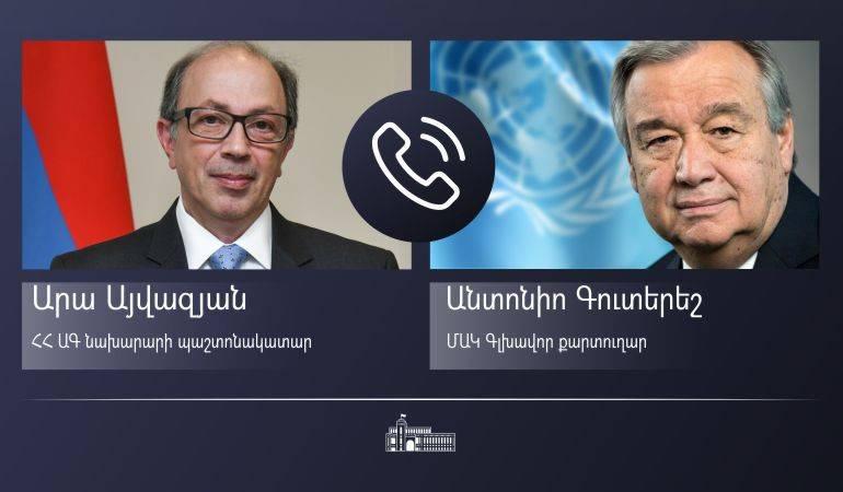 Photo of Айвазян указал генсеку ООН на срочность освобождения армянских военнопленных и мирных жителей, находящихся в заложниках в Азербайджане