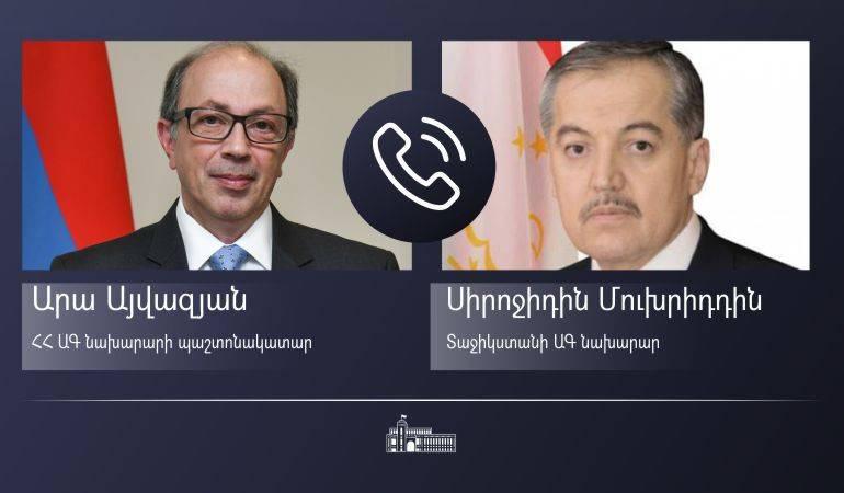 Photo of Ара Айвазян провел телефонные разговоры с главами МИД Кыргызстана и Таджикистана