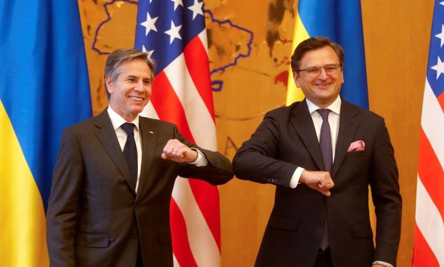 Photo of Госсекретарь США Энтони Блинкен проводит переговоры в Киеве