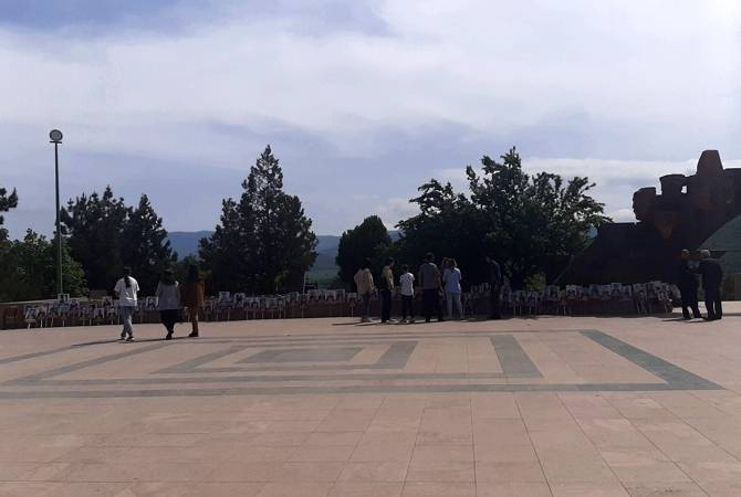 Photo of 9 мая  арцахцы   воздали дань памяти армянским павших воинов