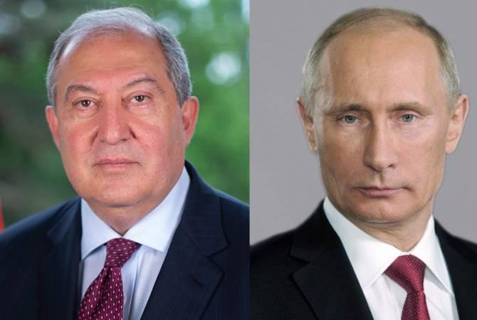 Photo of Президент Армен Саркисян направил телеграмму соболезнования Владимиру Путину в связи с трагедией в Казани