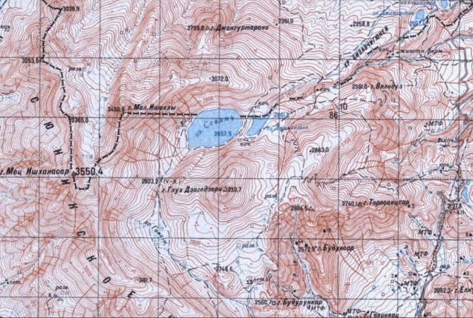 Photo of ԽՍՀՄ ԶՈՒ ԳՇ քարտեզը փաստում է՝ Սև լճի արևմտյան, հարավային և արևելյան ափեզրերի պատկանելությունը ՀՀ-ին աներկբա է