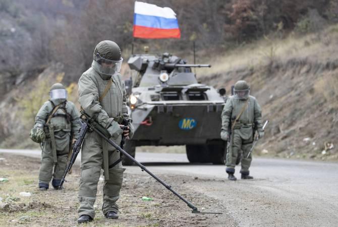 Photo of Российским саперам в Нагорном Карабахе пришлось обезвреживать минные поля 90-х годов