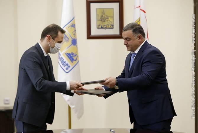 Photo of Мэры Еревана и Степанакерта подписали программу о сотрудничестве на 2021-2023 годы