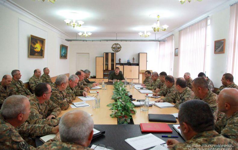 Photo of «Պաշտպանության բանակը կա, մնալու է և կդառնա ավելի մարտունակ». Արցախի նախագահ