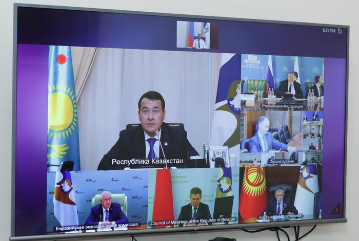 Photo of Мгер Григорян принял участие в заседании Совета ЕЭК