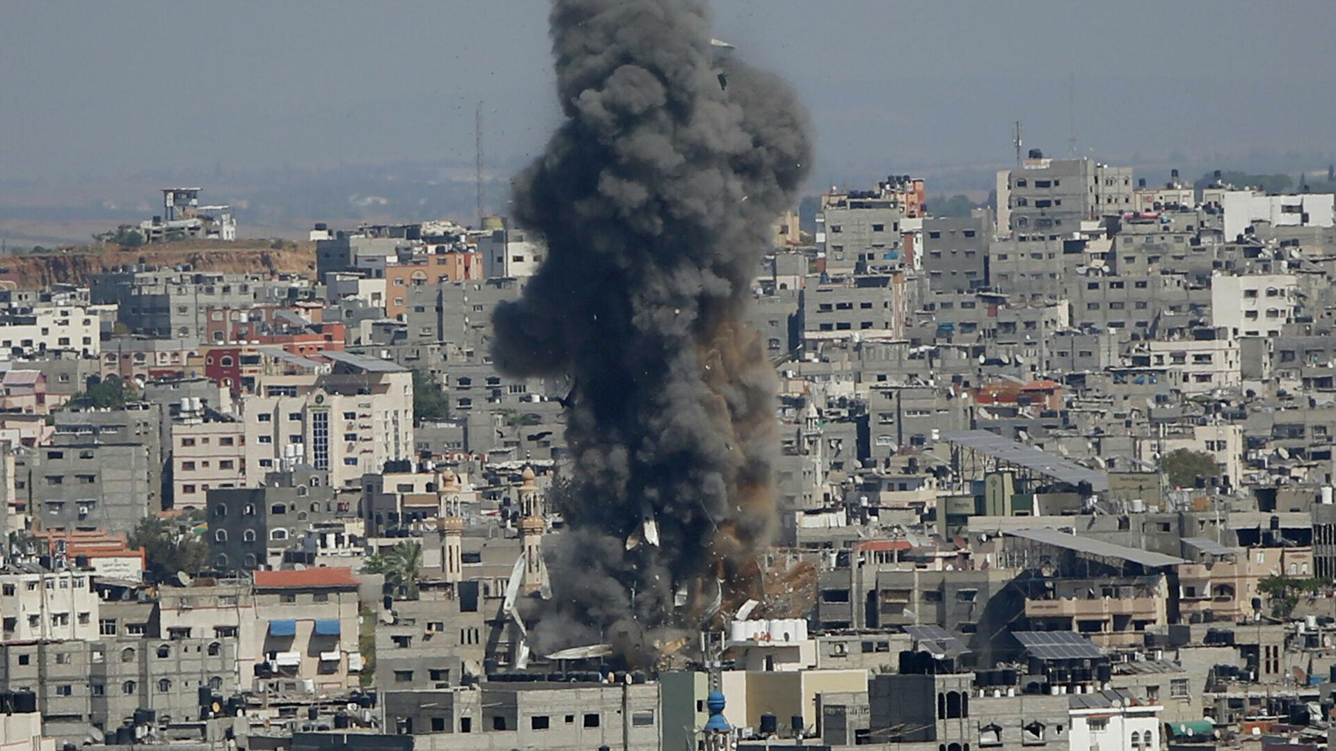 Photo of Израиль нанес удары по второму высотному зданию в Газе, сообщил источник