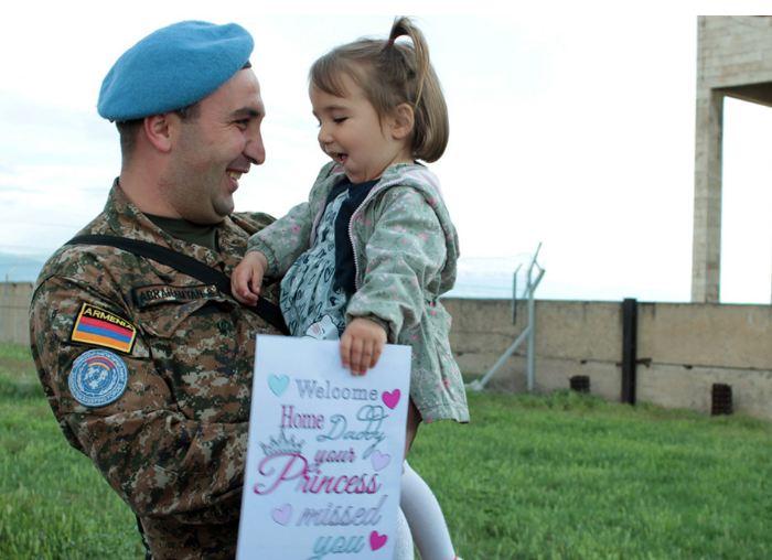 Photo of Миротворческий контингент вернулся в Армению