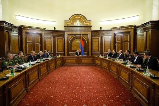 Photo of Никол Пашинян проводит заседание Совета безопасности
