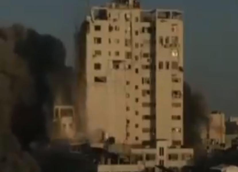 Photo of «Իսրայելի հարվածների հետեւանքով Գազայում փլվել է բարձրահարկ շենքի մի մասը. մարդկային կորուստների մասին հստակ տվյալներ չկան»
