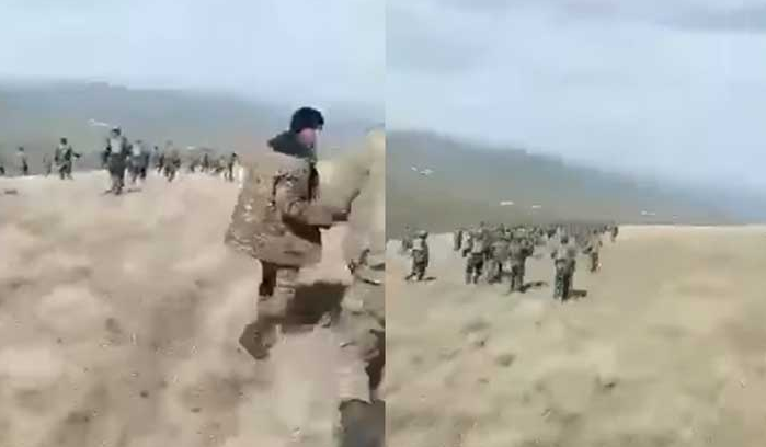 Photo of «Ադրբեջանական տիրույթում կրկին տեսանյութ է պտտվում, որտեղ երևում է, թե ինչպես է թշնամու զորքը մեր տղերքին տարածքից հեռացնում»