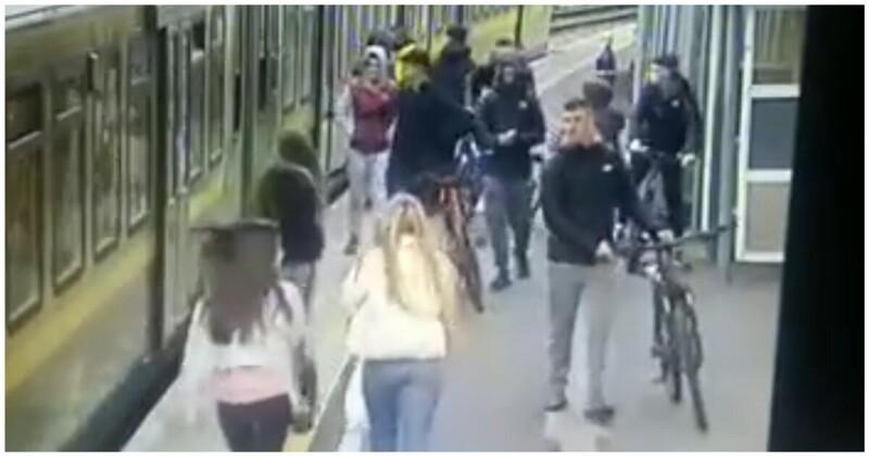Photo of Ինչպես են իռլանդացի լպիրշ պատանիները կայարանում հարձակվում աղջիկների վրա եւ նրանցից մեկին գցում ռելսերի վրա