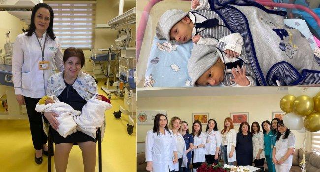 Photo of 53-летняя женщина в Ереване родила мальчиков-близнецов после 12 лет бесплодия