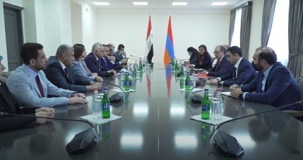 Photo of ԱԳ նախարարի պ.կ. Արա Այվազյանի հանդիպումը Իրաքի ԱԺ արտաքին հարաբերությունների մշտական հանձնաժողովի նախագահ Շիրկո Մուհամմադ Սալեհի հետ