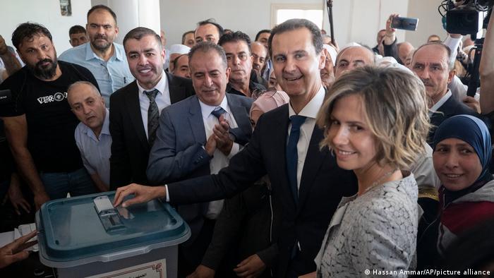 Photo of Германия, США и еще три страны Запада раскритиковали президентские выборы в Сирии