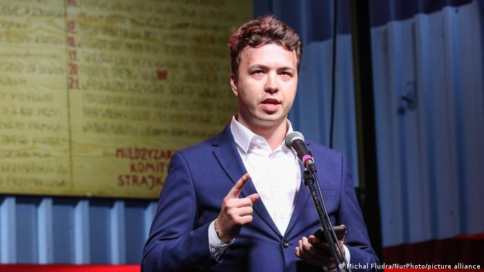 Photo of Правозащитники: Романа Протасевича перевели в СИЗО КГБ Беларуси