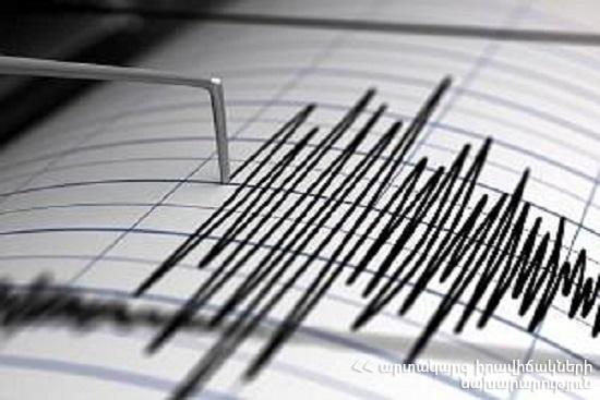 Photo of Землетрясение произошло в Армении. Толчки ощущались в нескольких селах