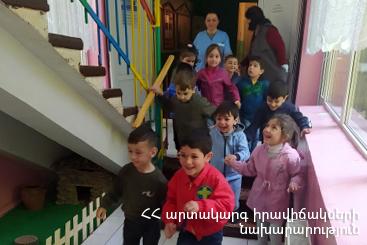 Photo of Ուսումնավարժանք. հրդեհ մանկապարտեզում