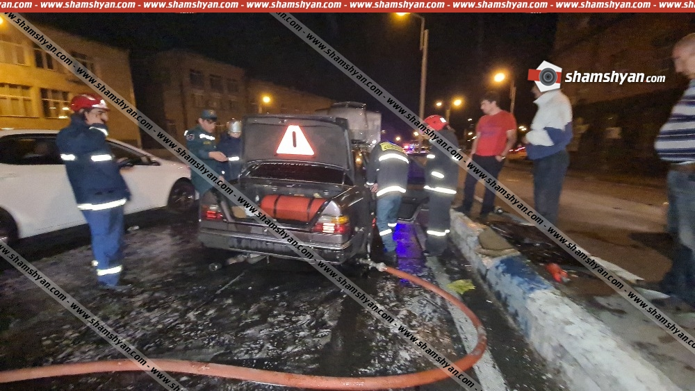 Photo of Արտակարգ դեպք Երևանում. Հերացու թունելից Խանջյան թունել տանող հատվածում հրդեհ է բռնկվել Mercedes-ում, օպերատիվ են գործել հրշեջ-փրկարարները