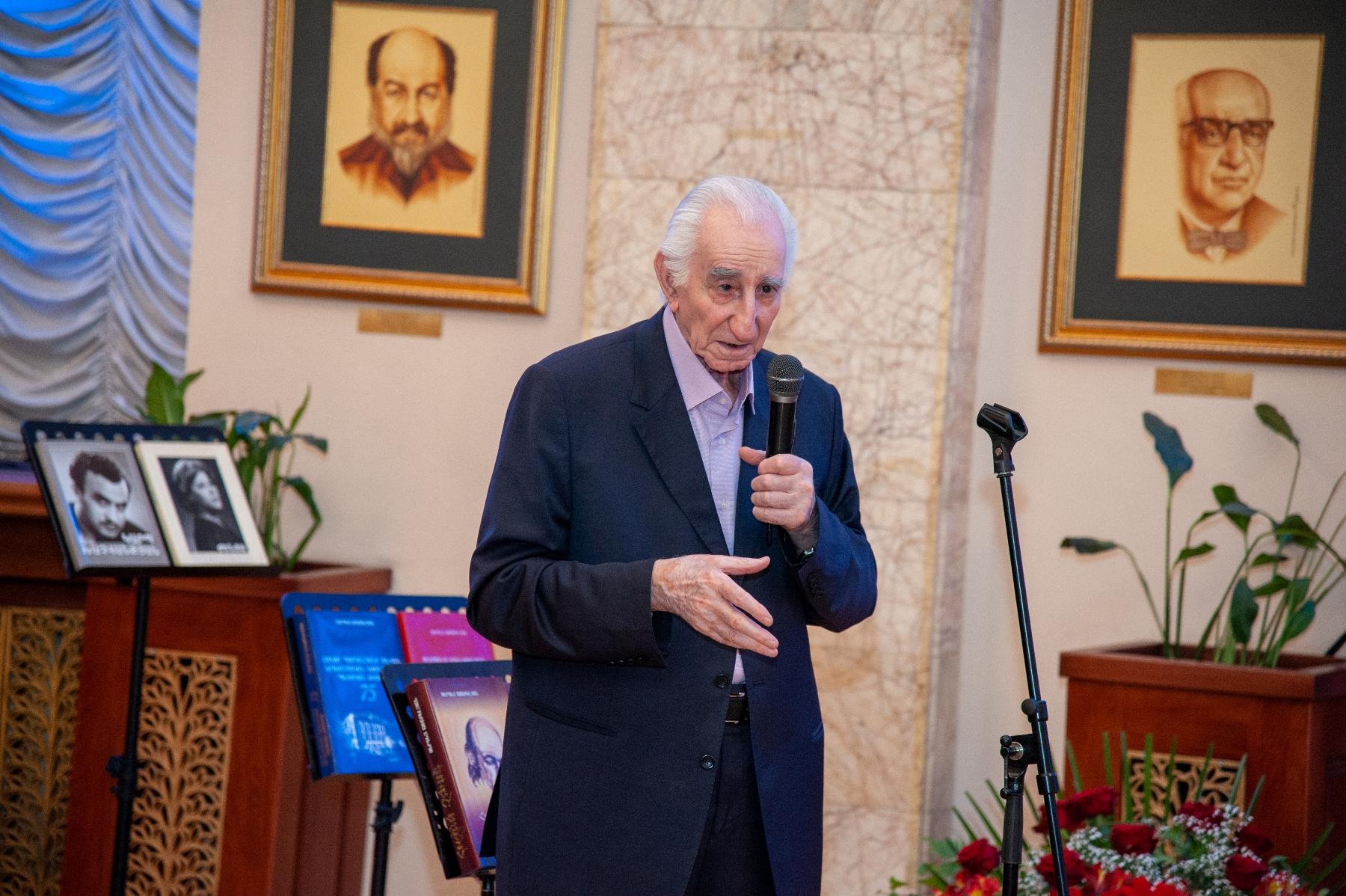 Photo of ՀՀ մշակույթի վաստակավոր գործիչ Սերգեյ Առաքելյանը 90 տարեկան է