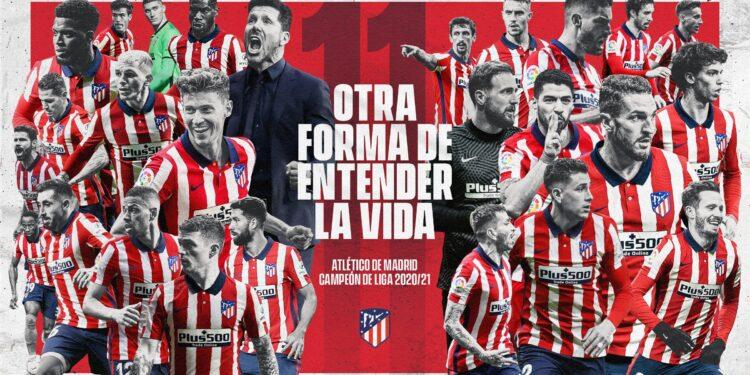 Photo of Ատլետիկոն հաղթեց Վալյադոլիդին ու հռչակվեց Իսպանիայի՝ 2020/21 մրցաշրջանի չեմպիոն