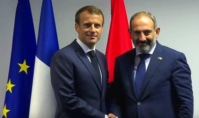 Photo of Ֆրանսիայի նախագահն իր զորակցություն է հայտնել Հայաստանի իշխանություններին ու հայ ժողովրդին