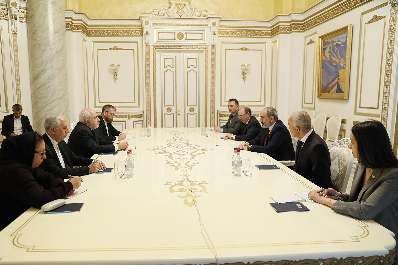 Photo of Обсуждения с Ираном носят стратегический характер: Никол Пашинян принял главу МИД Ирана