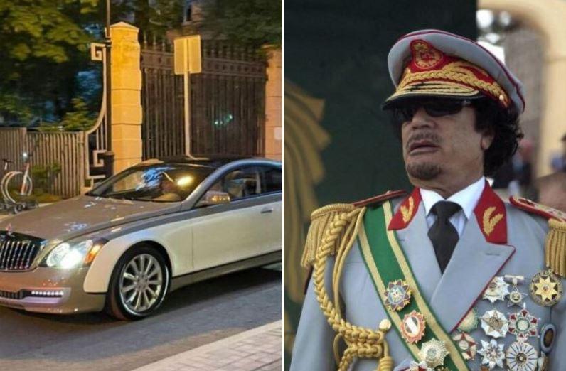 Photo of Майбах Муаммара. В Москве замечен супердорогой автомобиль, сделанный по заказу Каддафи