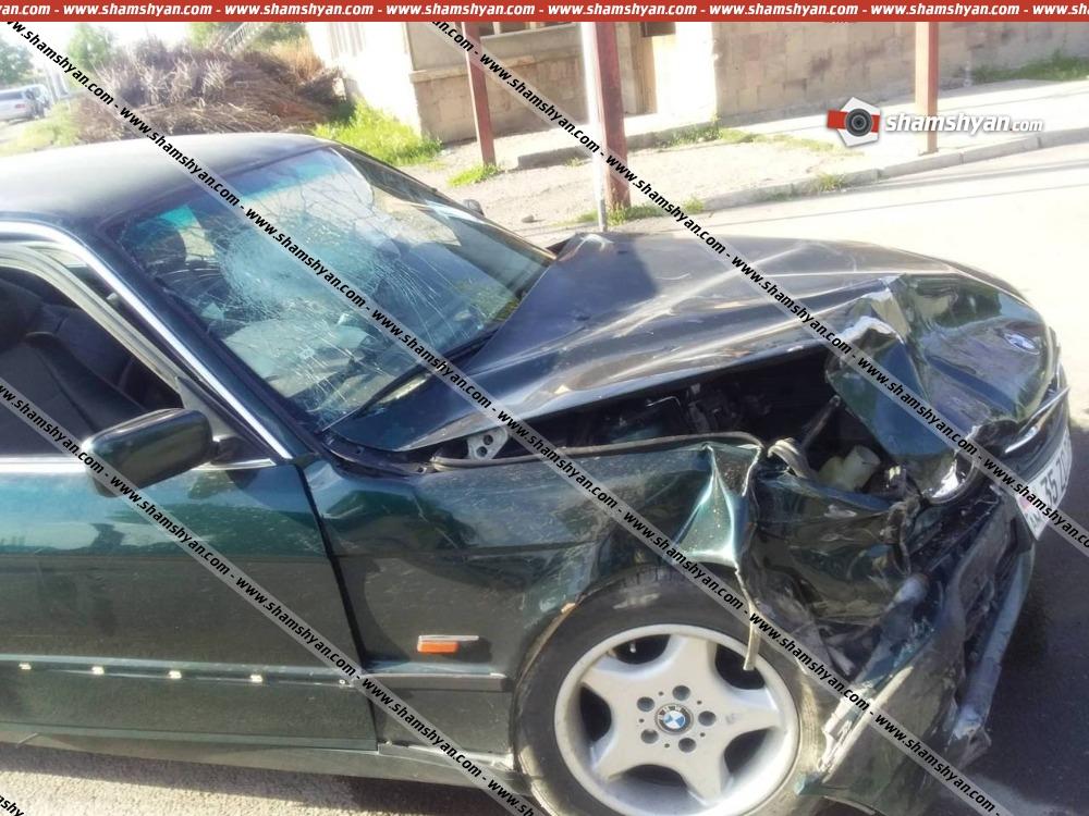 Photo of Խոշոր ավտովթար Արարատի մարզում. բախվել են BMW-ն ու Toyota Ipsum-ը. կա 4 վիրավոր
