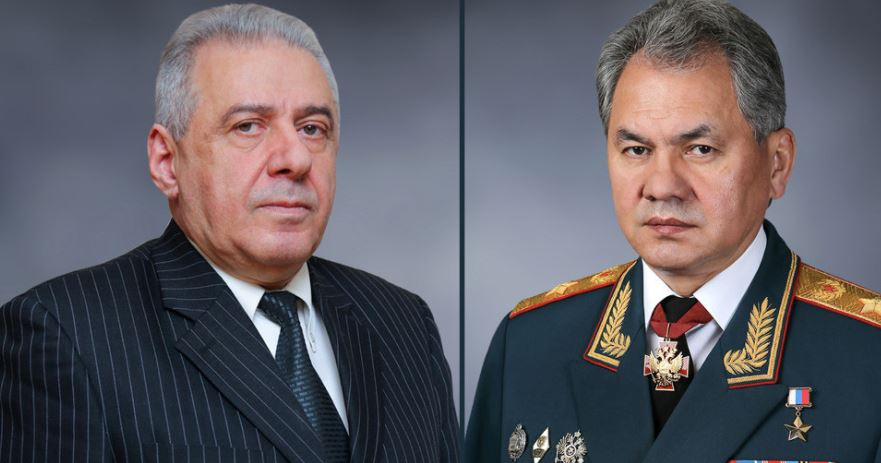 Photo of Вагаршак Арутюнян и Сергей Шойгу обсудили ситуацию на границе Армении и Азербайджана