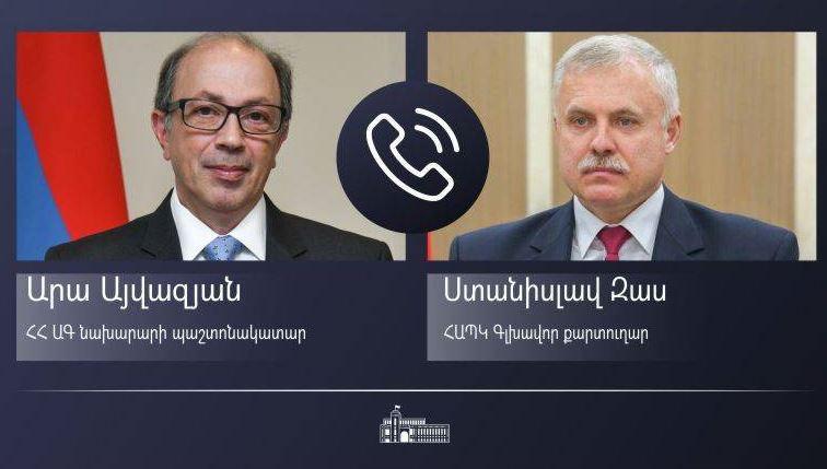 Photo of Ара Айвазян и Станислав Зась обсудили шаги по разрешению ситуации на государственной границе Армении