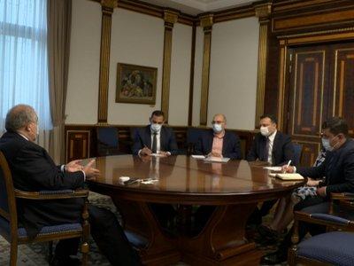 Photo of Президент РА обсудил возможность программ в Сюнике с исполнительным директором фонда «Айастан»