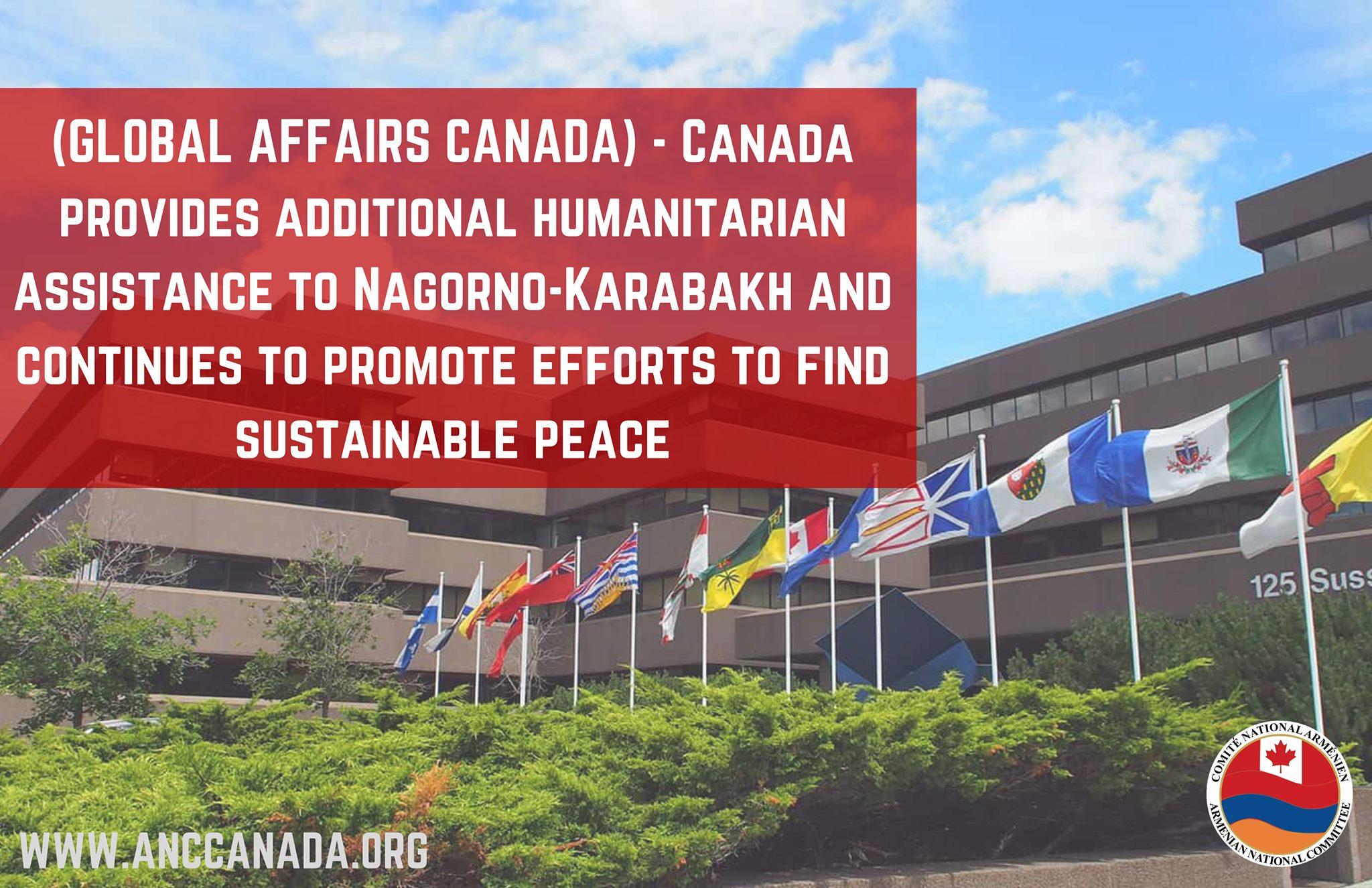 Photo of Канада предоставила МККК дополнительно 1 млн долларов для помощи Арцаху