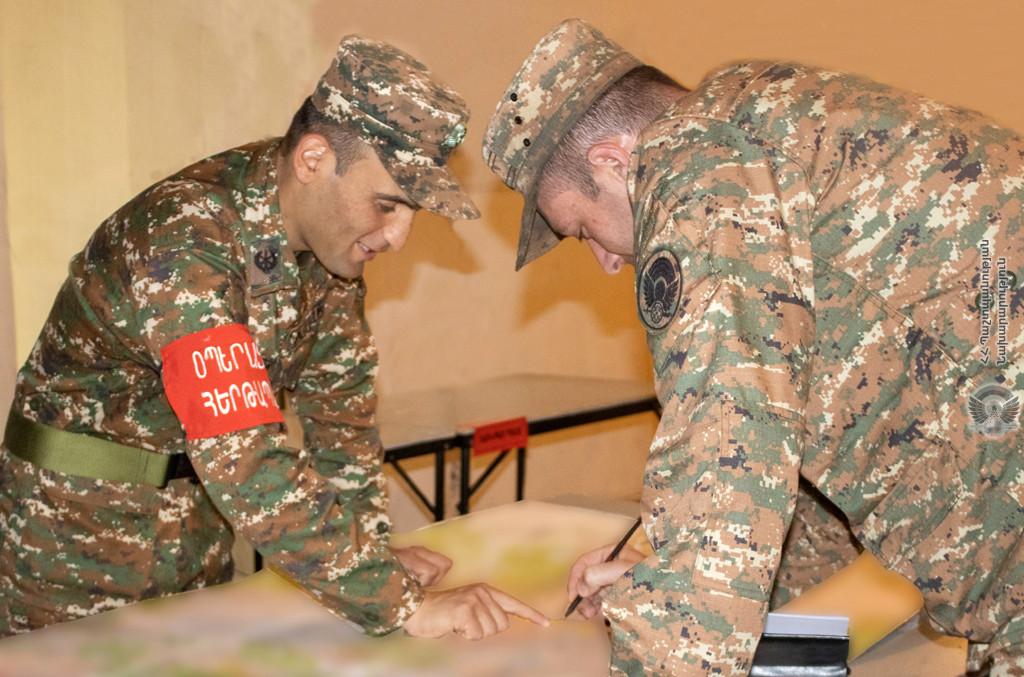Photo of 4-րդ զորամիավորումում անցկացվում են հրամանատարական վարժանքներ